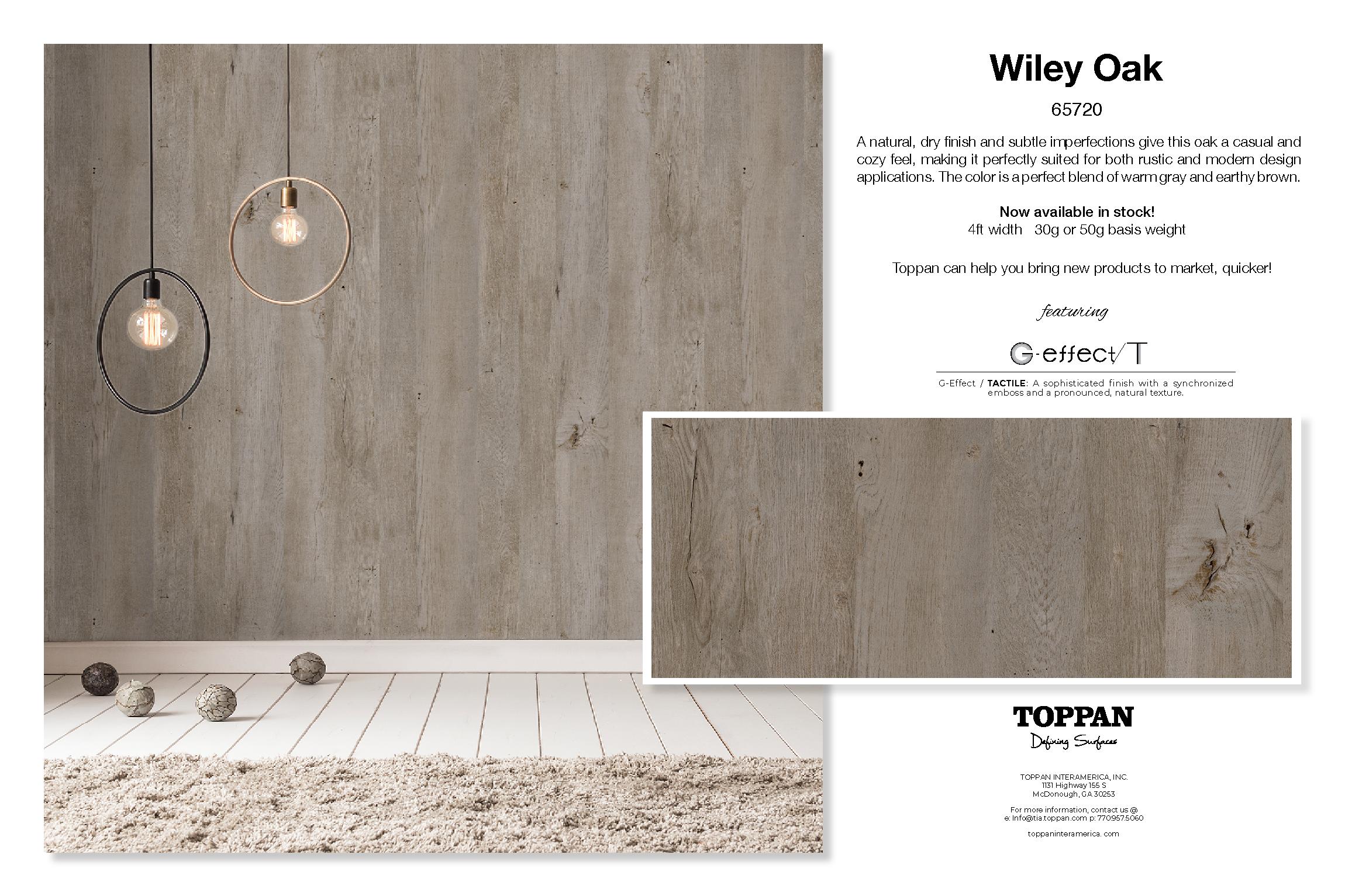 Wiley Oak Promo